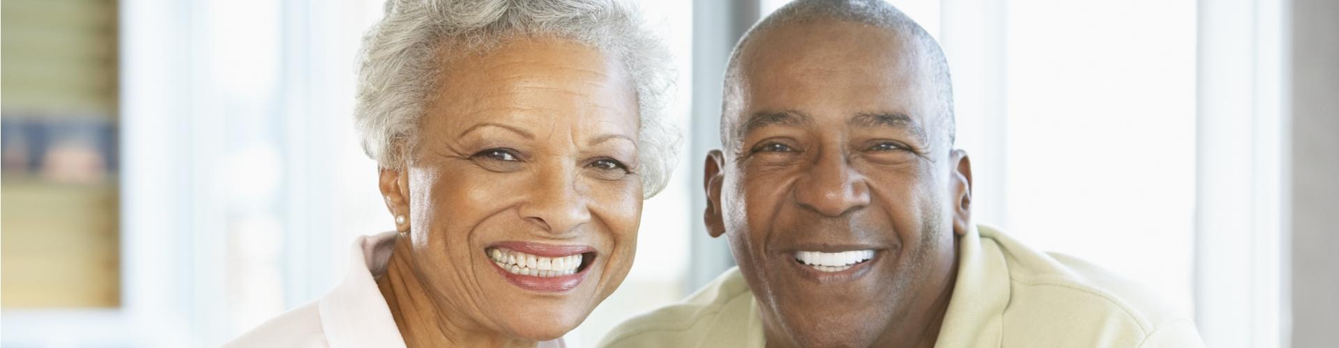 photo of older couple smiling
